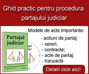 Ghid practic pentru procedura partajului judiciar